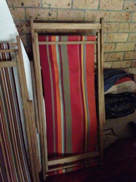 Canvas Deck Chairs 50 Each Chairs Gumtree Australia New South Wales Sydney Region 1031128577 Deck Chairs Gumtree Australia Australia