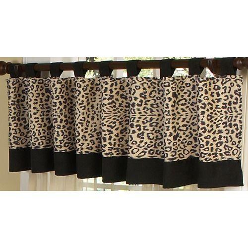 Animal Print Valance Sweet Jojo Designs Jojo Designs Curtains