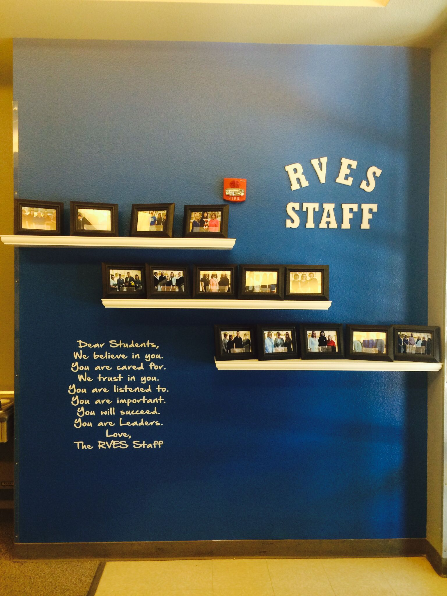 Front Office Staff Wall School Office Decor Principals Office