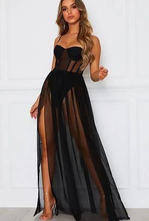 ALAA - MAXI LINGERIE DRESS