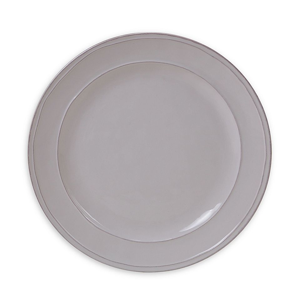 Certified International Orbit Dinner Plates In Cream (Set Of 6)