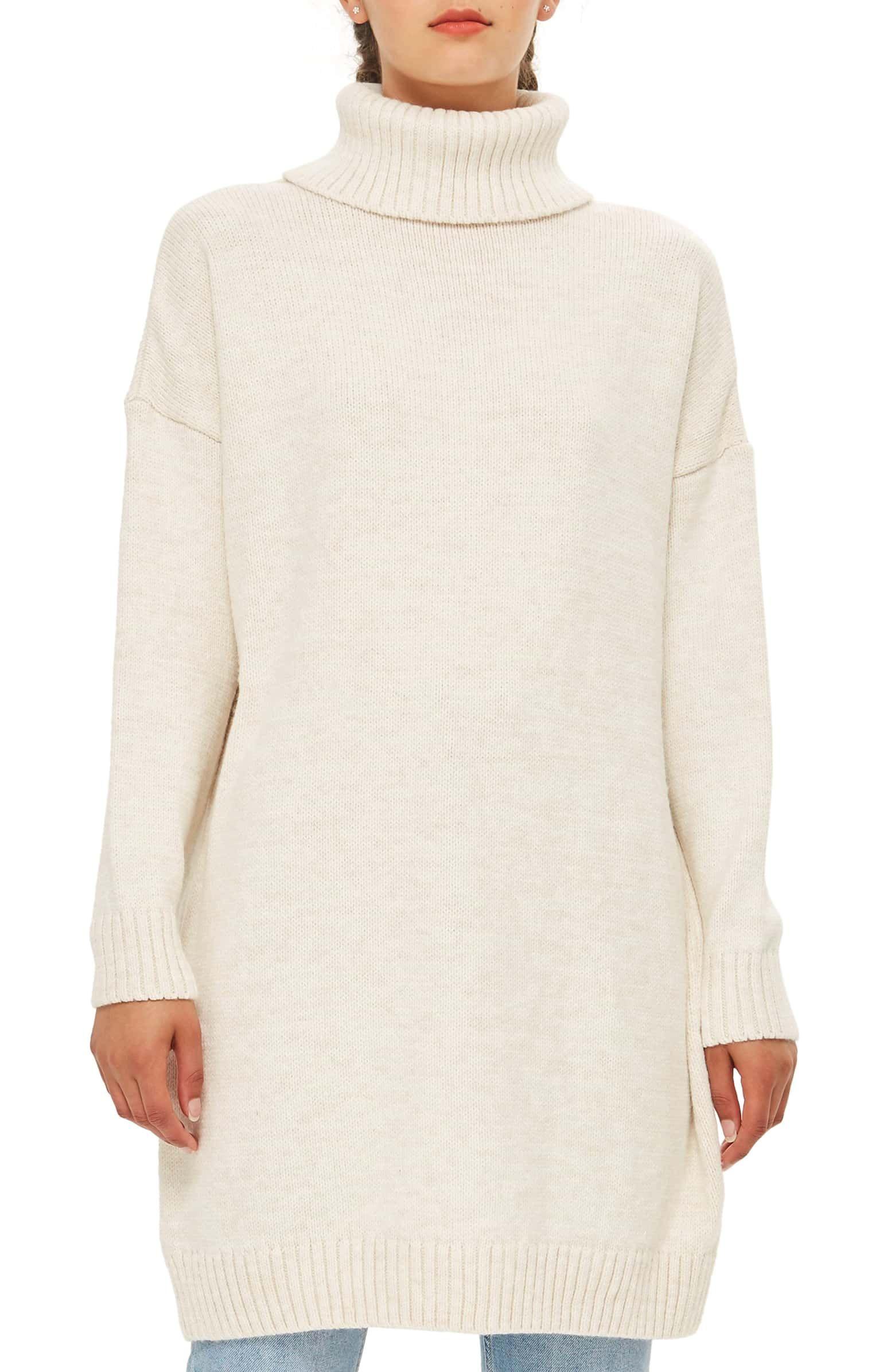 3c24a73bfa5 Turtleneck Sweater Dress