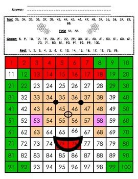 chart mystery picture santa december in kindergarten pinterest and christmas also rh