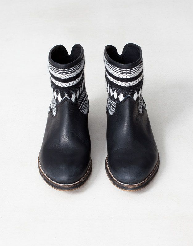 BOTTINES ETHNIQUES - CHAUSSURES FEMME - CHAUSSURES - France