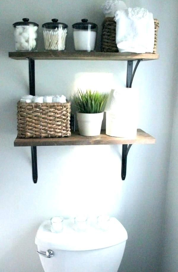 Bathroom Wall Shelf Ideas Attivissimoinfo Decorative Bathroom