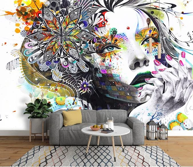 Customize Wall Mural In 2020 Mural Adhesive Wall Art Custom Murals