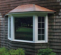 A Flat Seam Copper Roof For A Bay Window Casas Casa Com Telhado Telhados