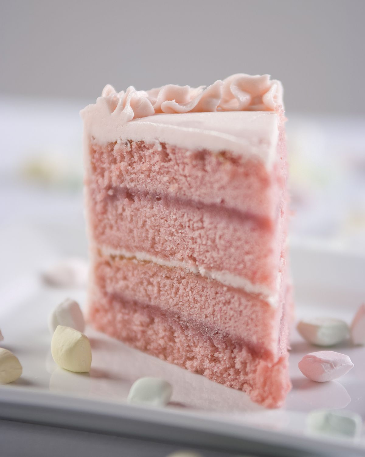 Strawberry Cake The Secret To This Is Strawberries A Pound Of
