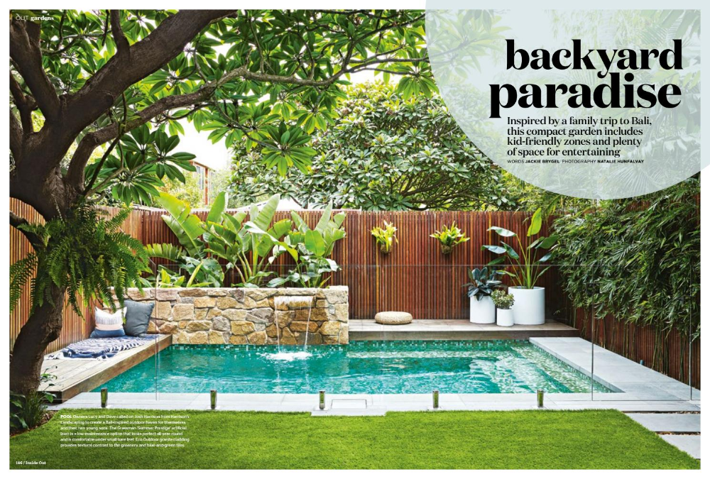 Balinese Pool Landscaping Ideas Australia Google Search Small Backyard Pools Small Pool Design Backyard
