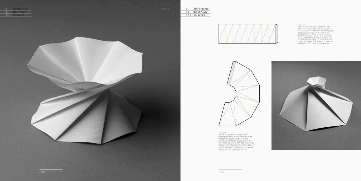 folding techniques for designers from sheet to form paul