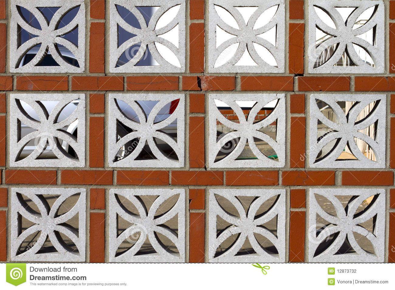 Bloques ornamentales de concreto buscar con google for Ladrillos falsos decorativos
