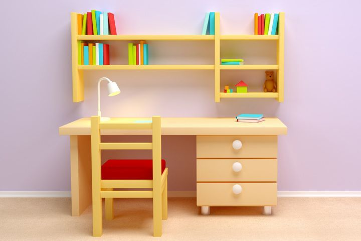 Wood O Plast Knock Down Kids Study Table Chair Set Best Home And