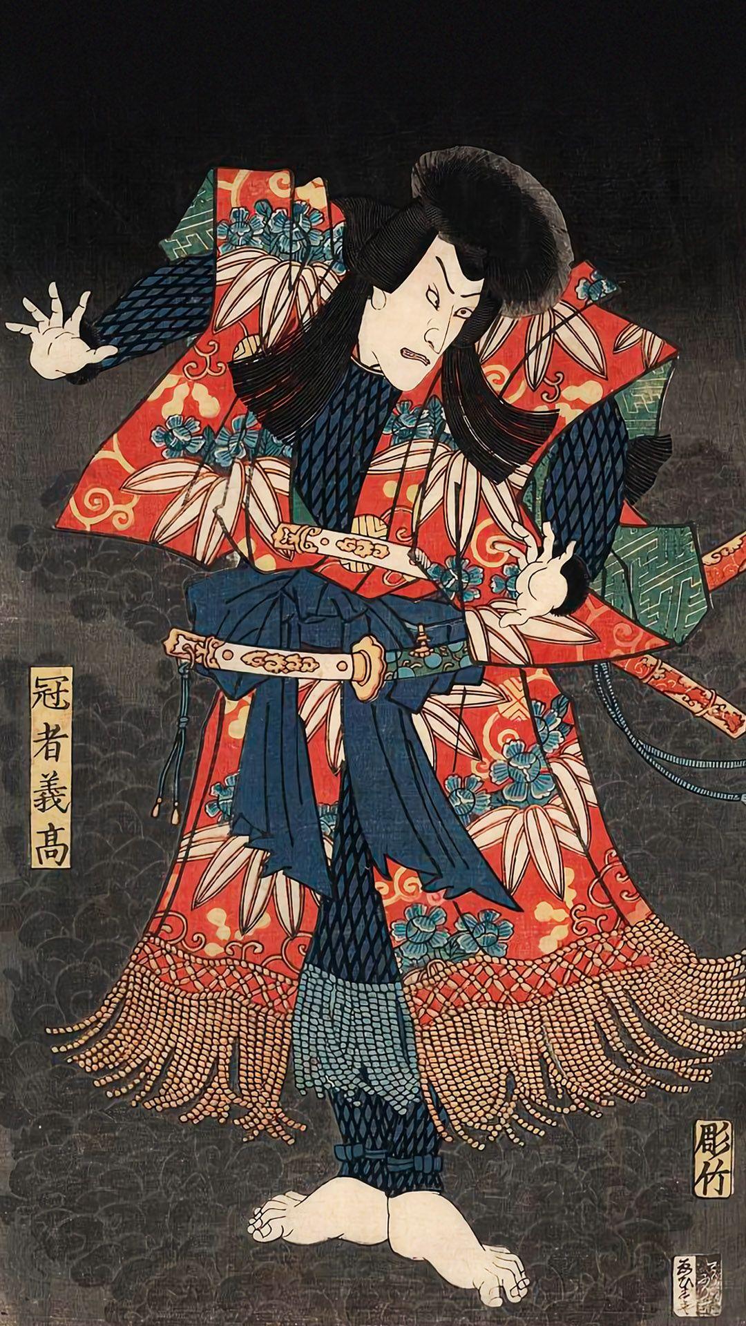 歌川豊国 怪鼠伝之内 冠者義高 Utagawa Toyokuni 1080x19 壁紙ギャラリー Kagirohi 日本画 和彫り デザイン 鼠
