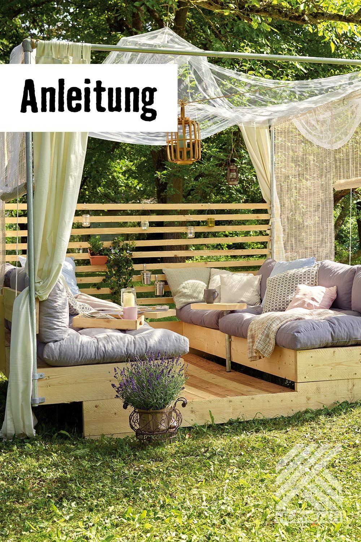 Gartenlounge Selber Bauen Garten Lounge Gartenlounge Selber Bauen Balkon Selber Bauen