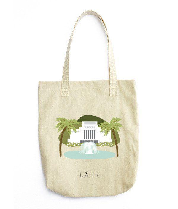 Laie Temple Tote Bag