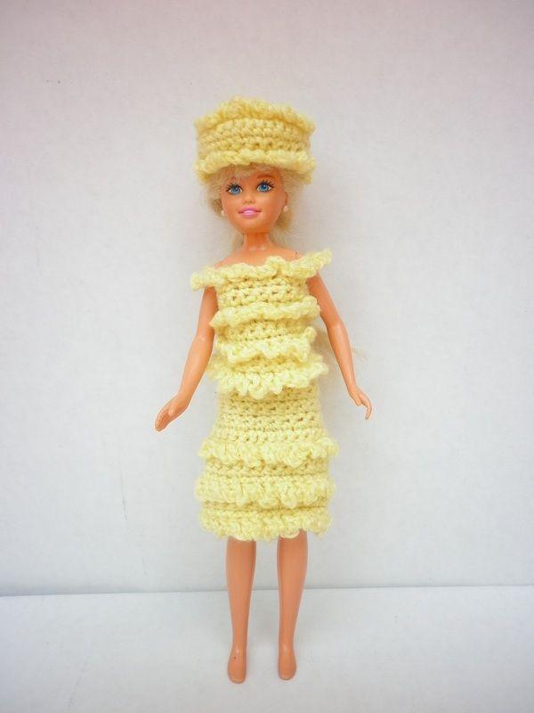 Crochet Skipper Clothes | Vestidos De Ganchillo varbi | Pinterest ...