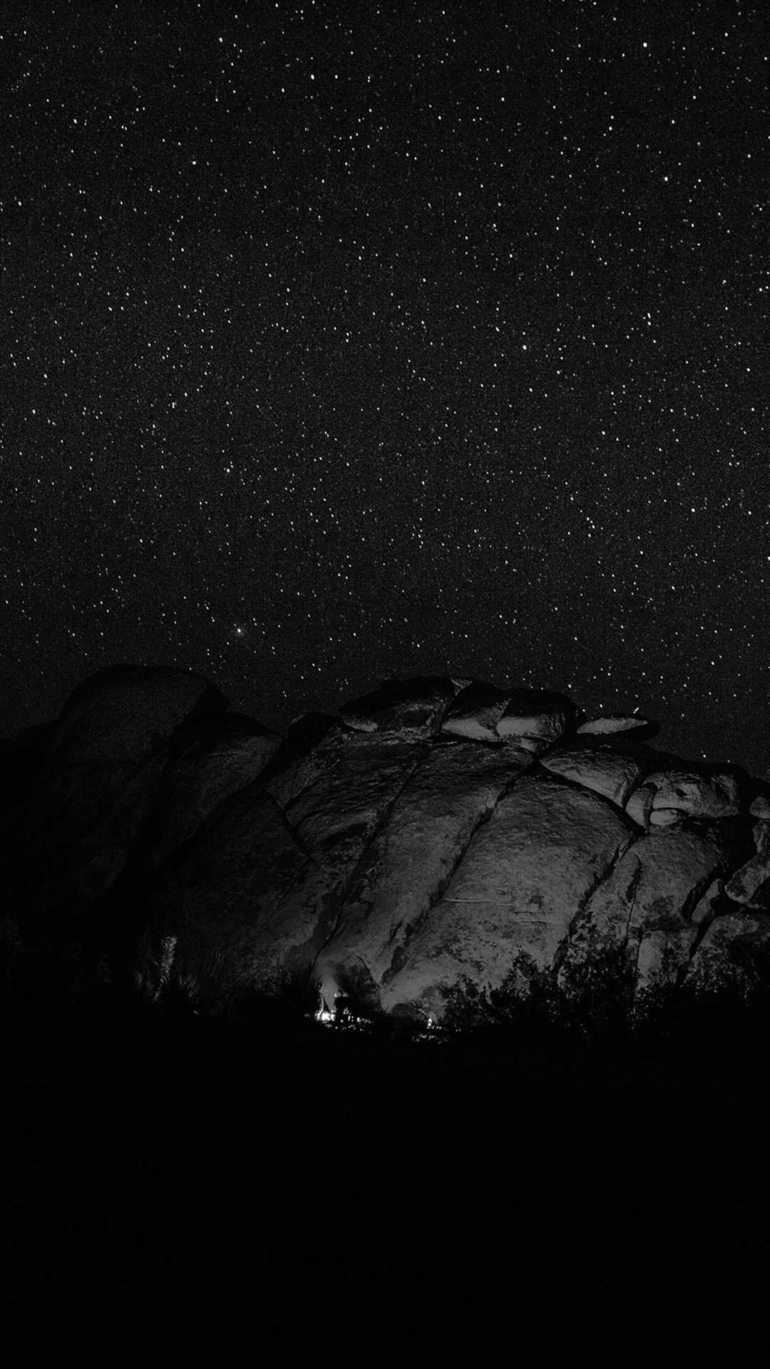 Mystery Rock Night Sky Star Nature Dark Iphone 6 Wallpaper Dark Wallpaper Night Sky Stars Download Wallpaper Hd