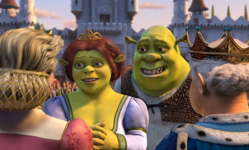 We Watched This Movie Nonstop And Loved All The Music In It Or Was That Just Mee I Need A Heroooo Shrek Animated Movies Fiona Shrek