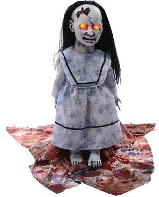 Lunging Graveyard Baby Halloween Prop Haunted House Decor Scary