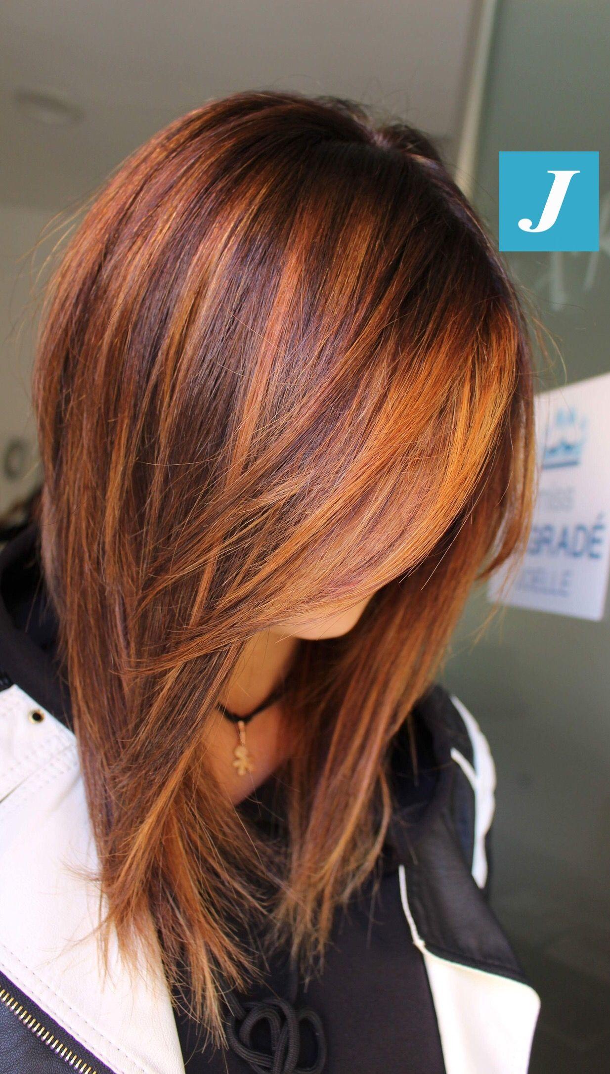 Hair Color Auburn Hair Styles Balayage Hair