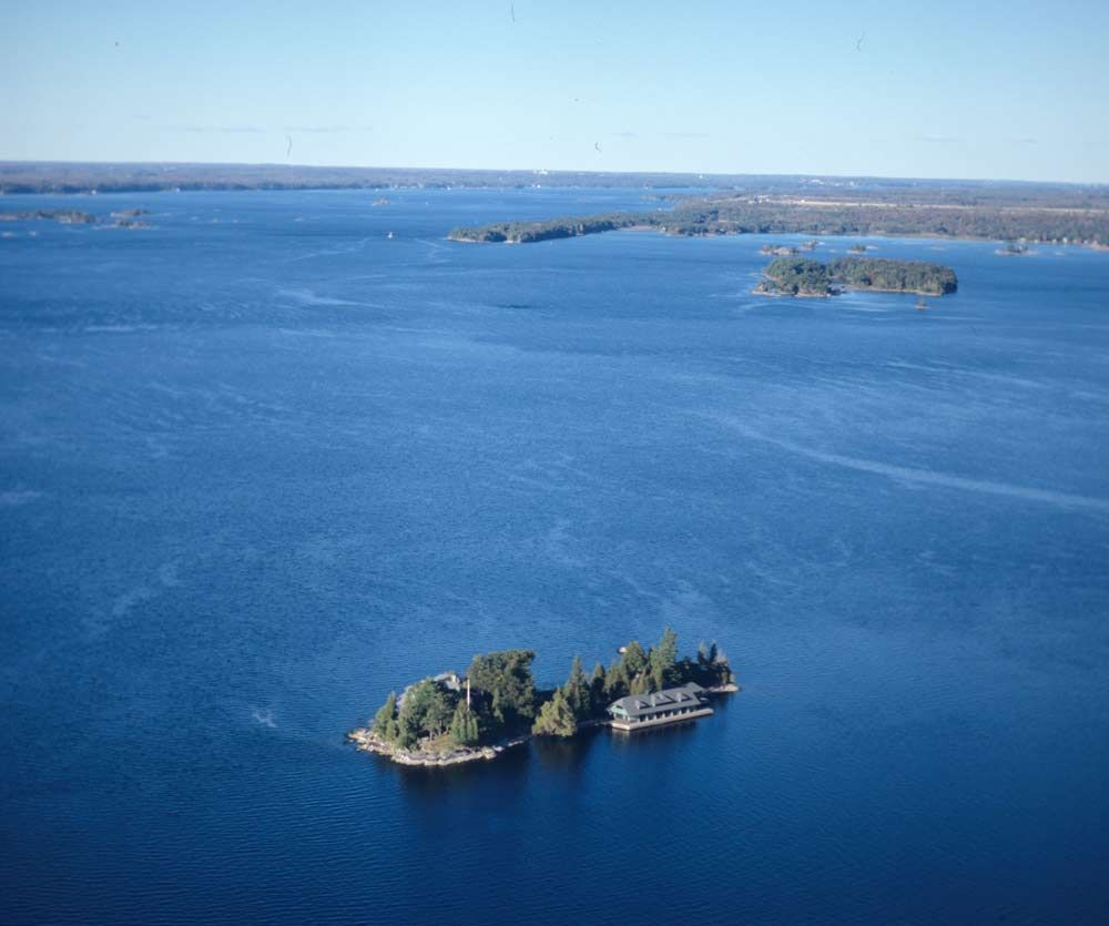 Detail Island Connecticut Usa