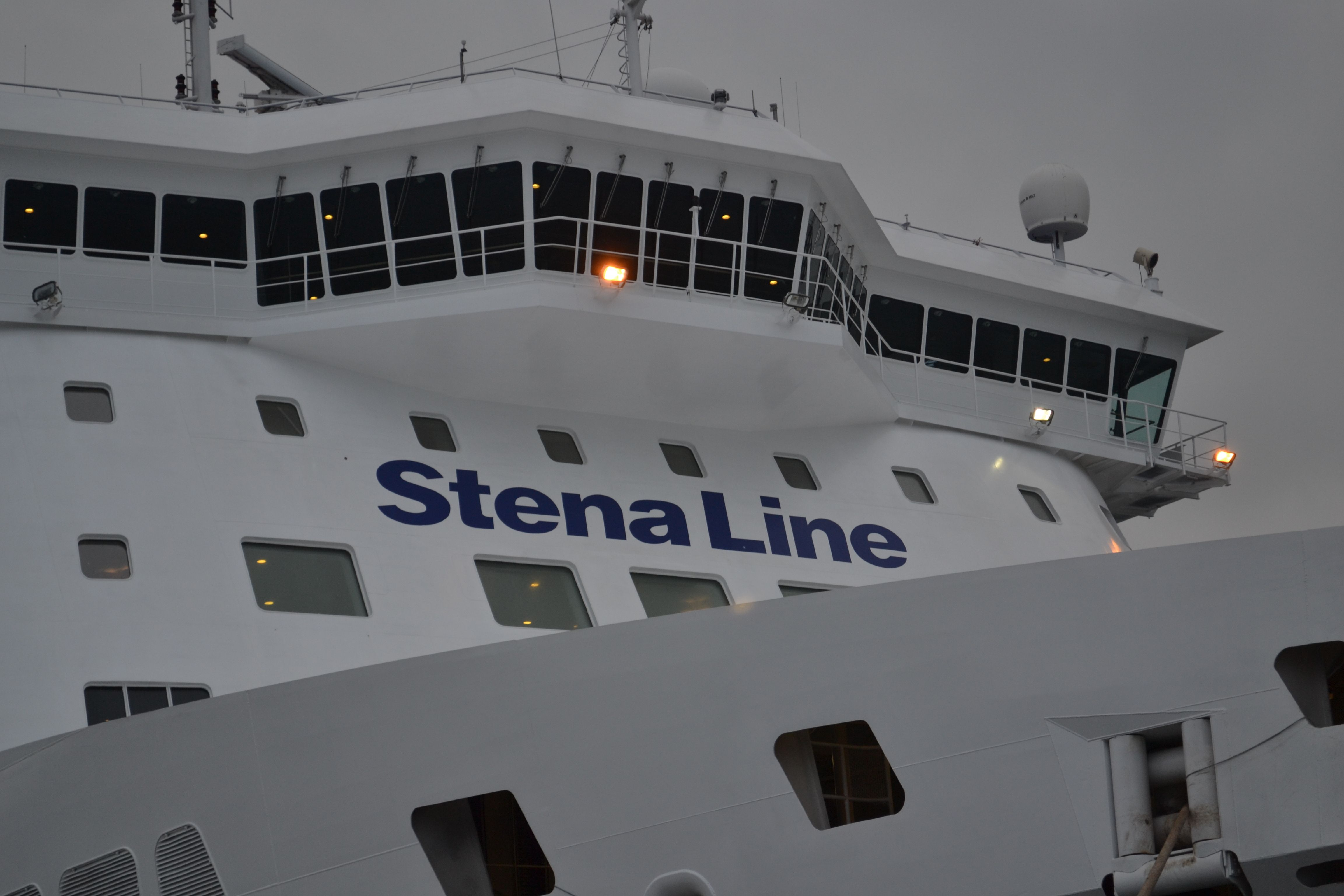 Book color line ferry - Stena Line The Captain S View From A Freight Ferry Https Www