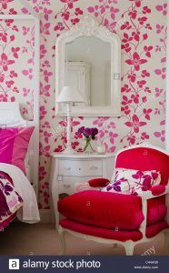 Hot Pink Wallpaper For Bedroom   Maddie\'s room   Pink ...