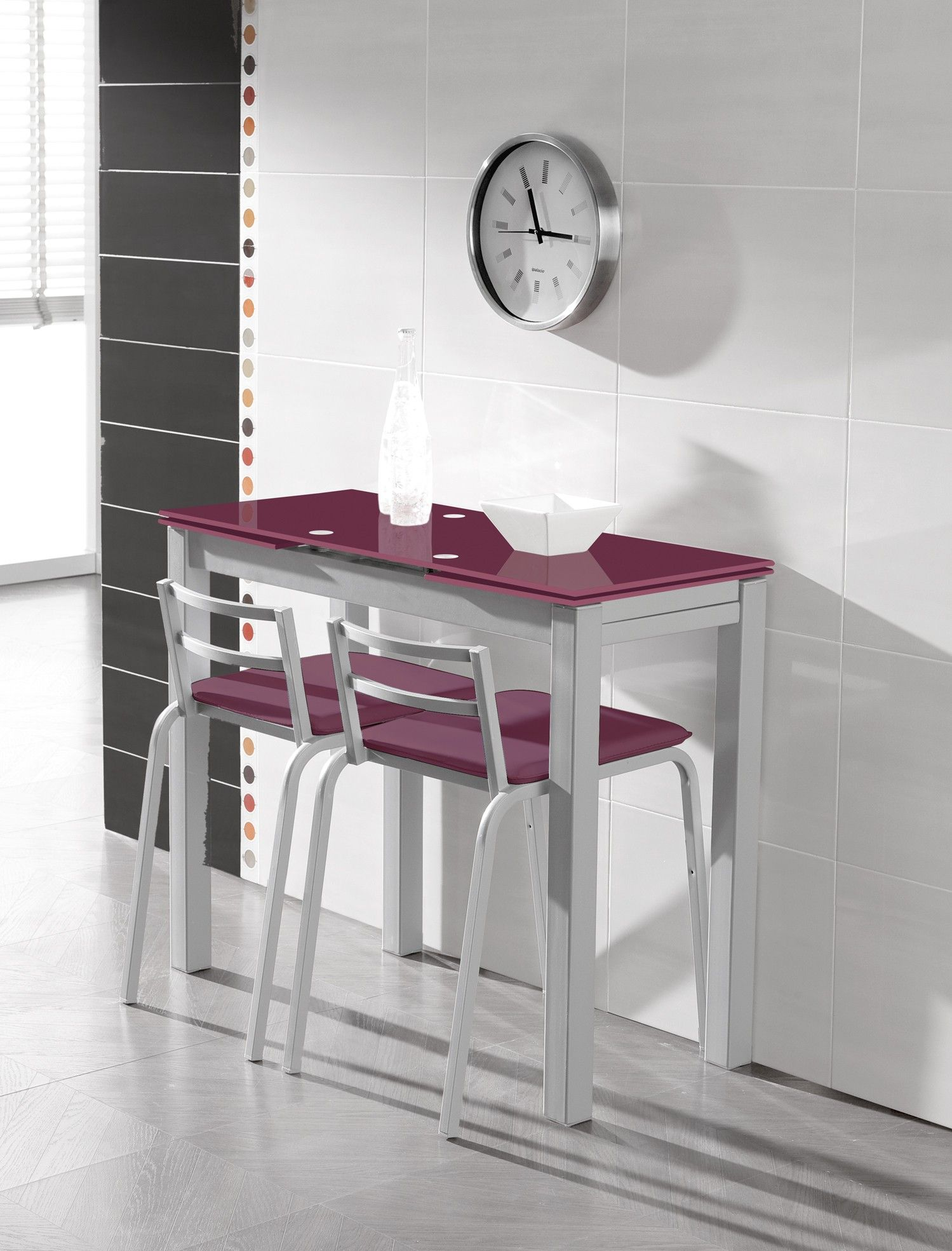 Mesa extens vel optima en conforama tables pliantes for Mesa abatible conforama