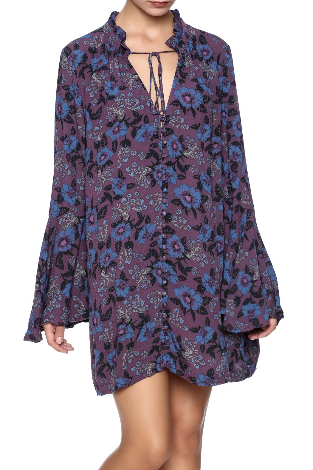 Free People Mystery Printed Tunic