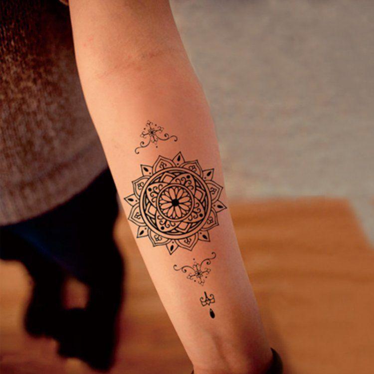 Sanskrit Mantra Words Temporary Tattoos Body Art Tattoo ...   Art ...