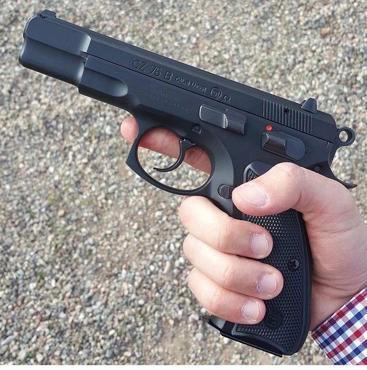 Cz 75b hand guns guns firearms