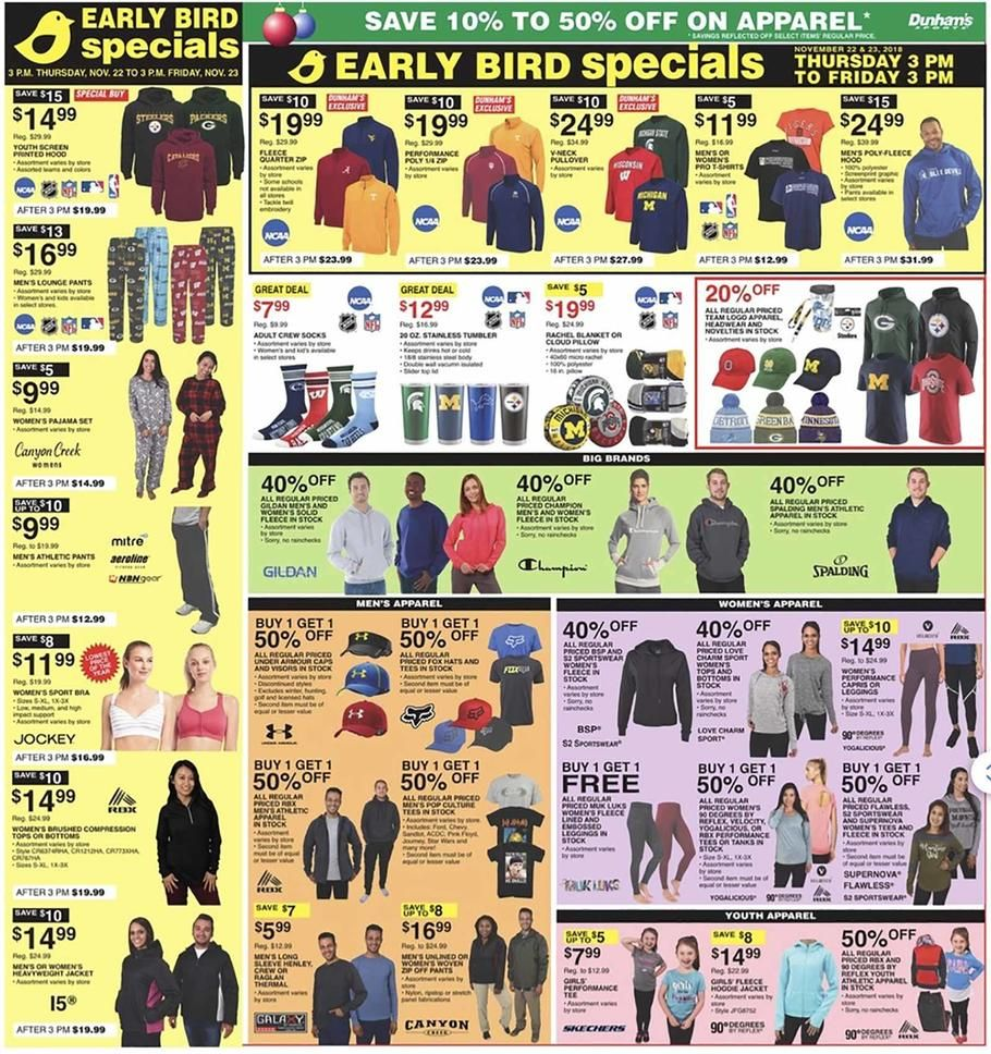 Dunham's Sports Black Friday 2018 Ads and Deals Browse the