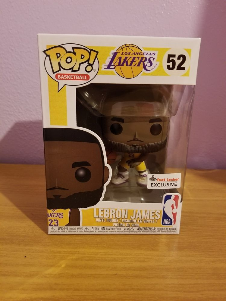 76d591ccb99 Lebron James Funko POP Los Angeles Lakers Foot Locker Exclusive In Hand   afflink