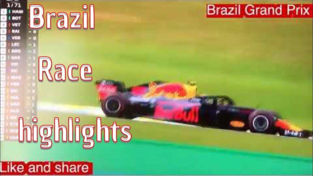 4b4a43a244 Formula one 2018 Brazil Grand Prix reaction Verstappen and Ocon collide -  YouTube