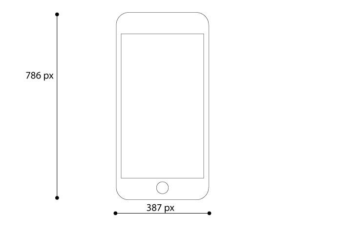 Iphone 8 Plus Vector Mockup For Free Download Vitorials Mockup Free Download Iphone 8 Iphone