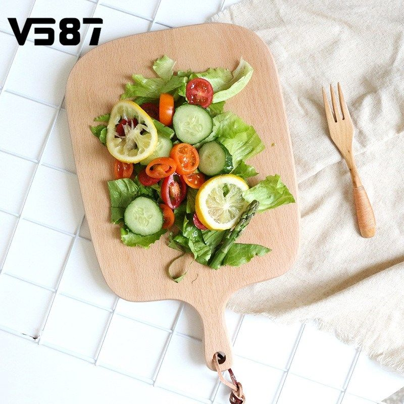 promo ins wooden food serving tray pizza stones dining