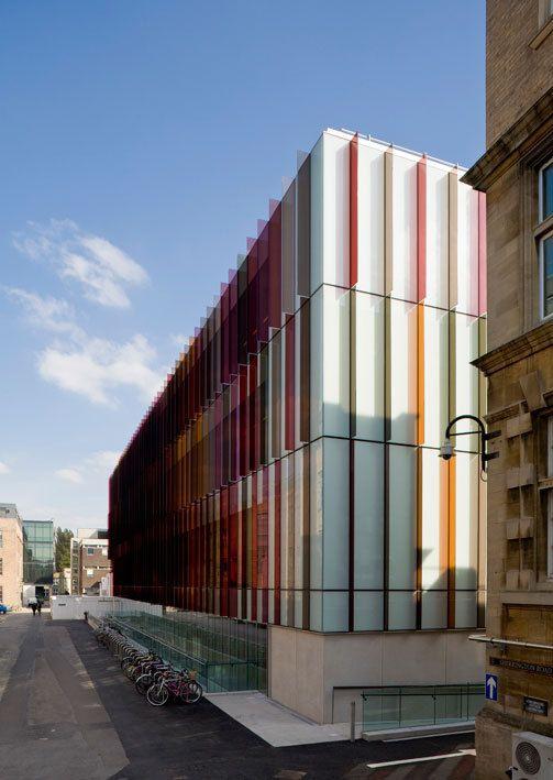 Oxford, United Kingdom  New Biochemistry building. University of Oxford…