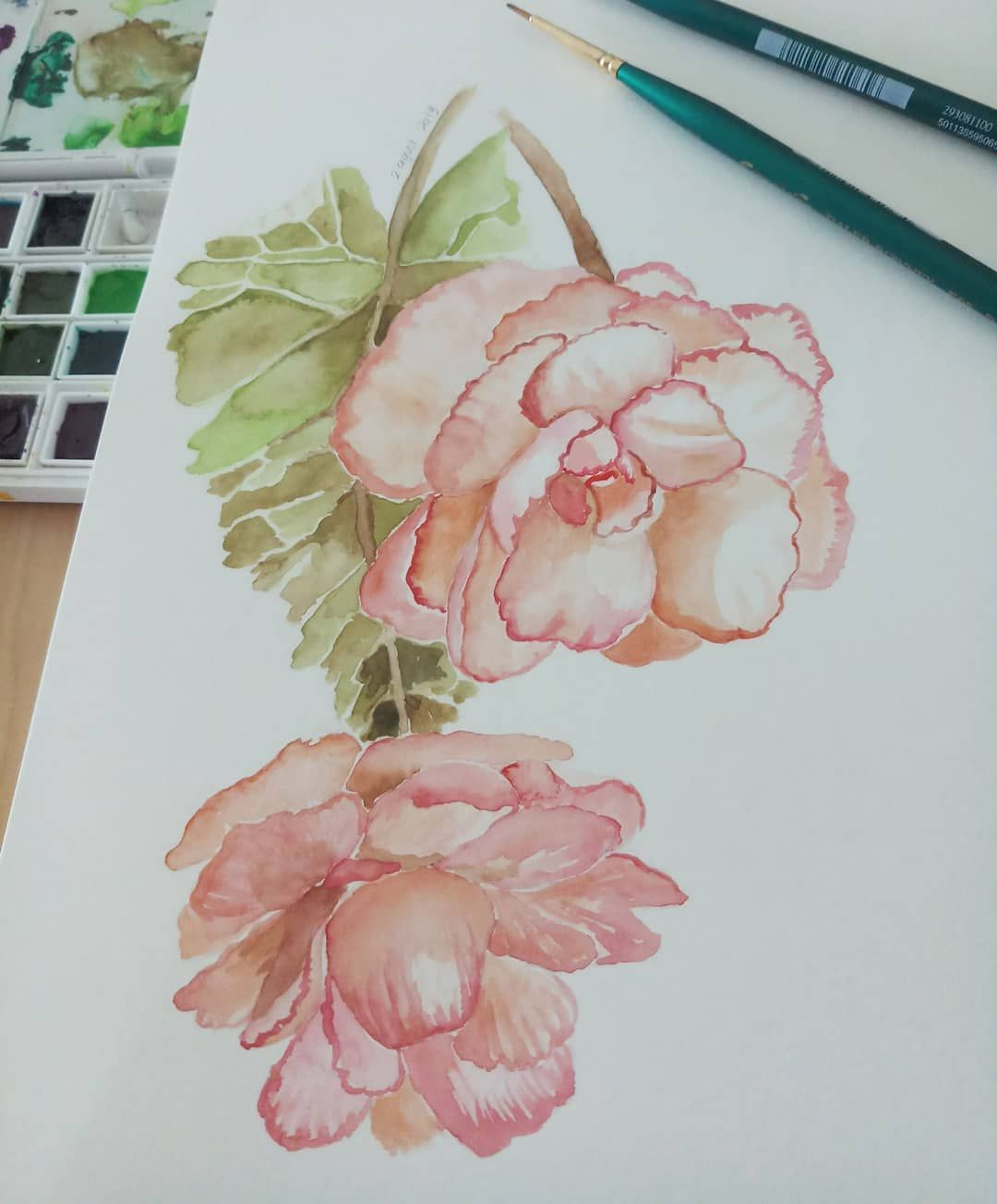 Pin By Varvara On Draw It In 2020 Botanical Painting Painting