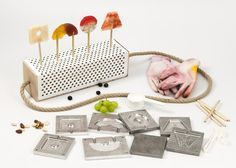 Lollipop kit designed to create homemade treats