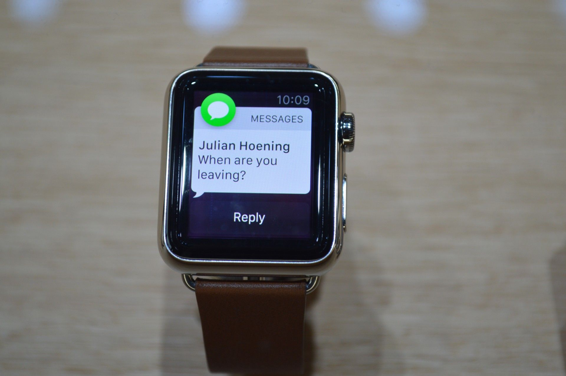 Not quite handson with the Apple Watch, and the questions
