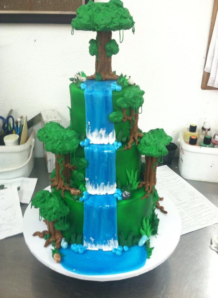wedding cakes with waterfalls waterfall wedding cake wedding cakes 26134