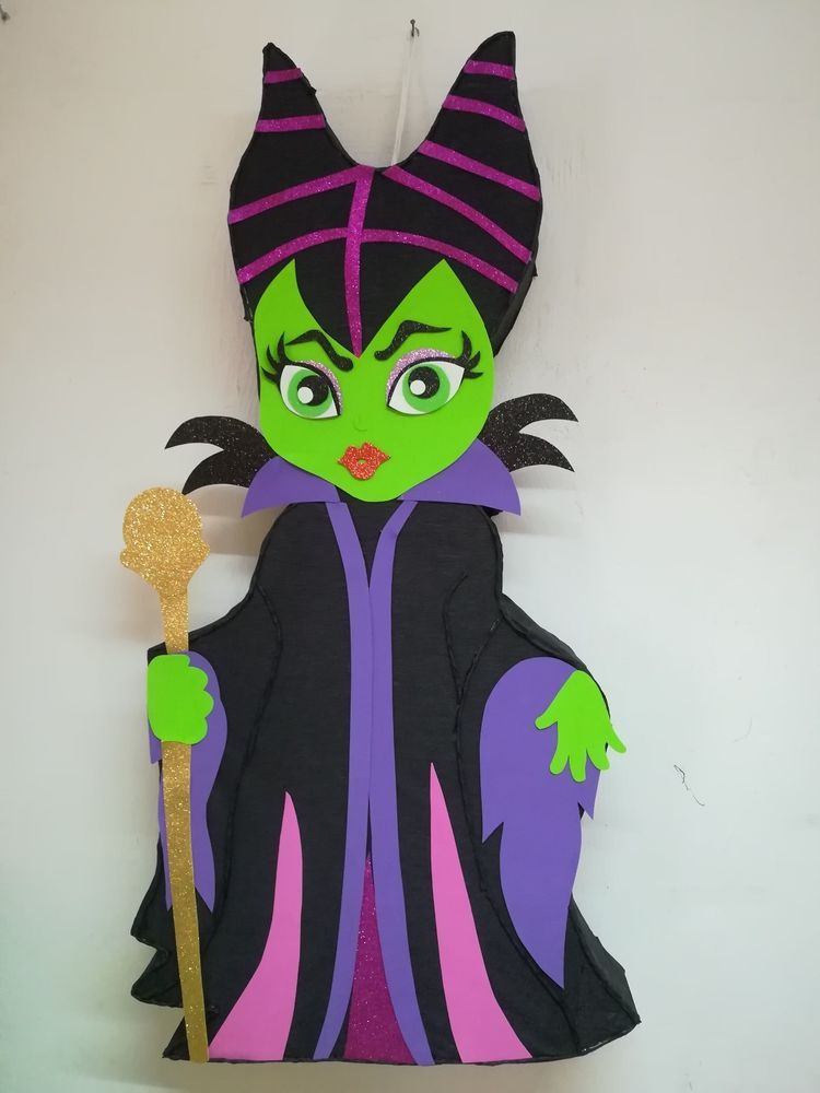 Details About Maleficent Pinata Maleficent Birthday Party