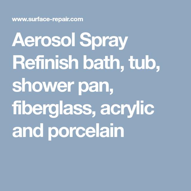 Refinish Complete Bath, Shower, other Fiberglass and Porcelain ...