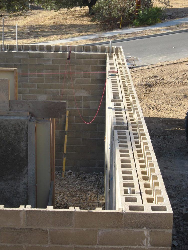 Indoor Comfort Isn T Just About R Value Addressing The Relationship Between Insulation And Thermal Mass Watershed Materials Technology For New Concrete Blo Concrete Block Walls Thermal Mass Rammed Earth Wall