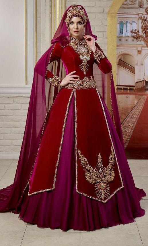 Tesettur Nisan Kina Elbisesi Moda Stilleri Balo Elbisesi Musluman Elbisesi
