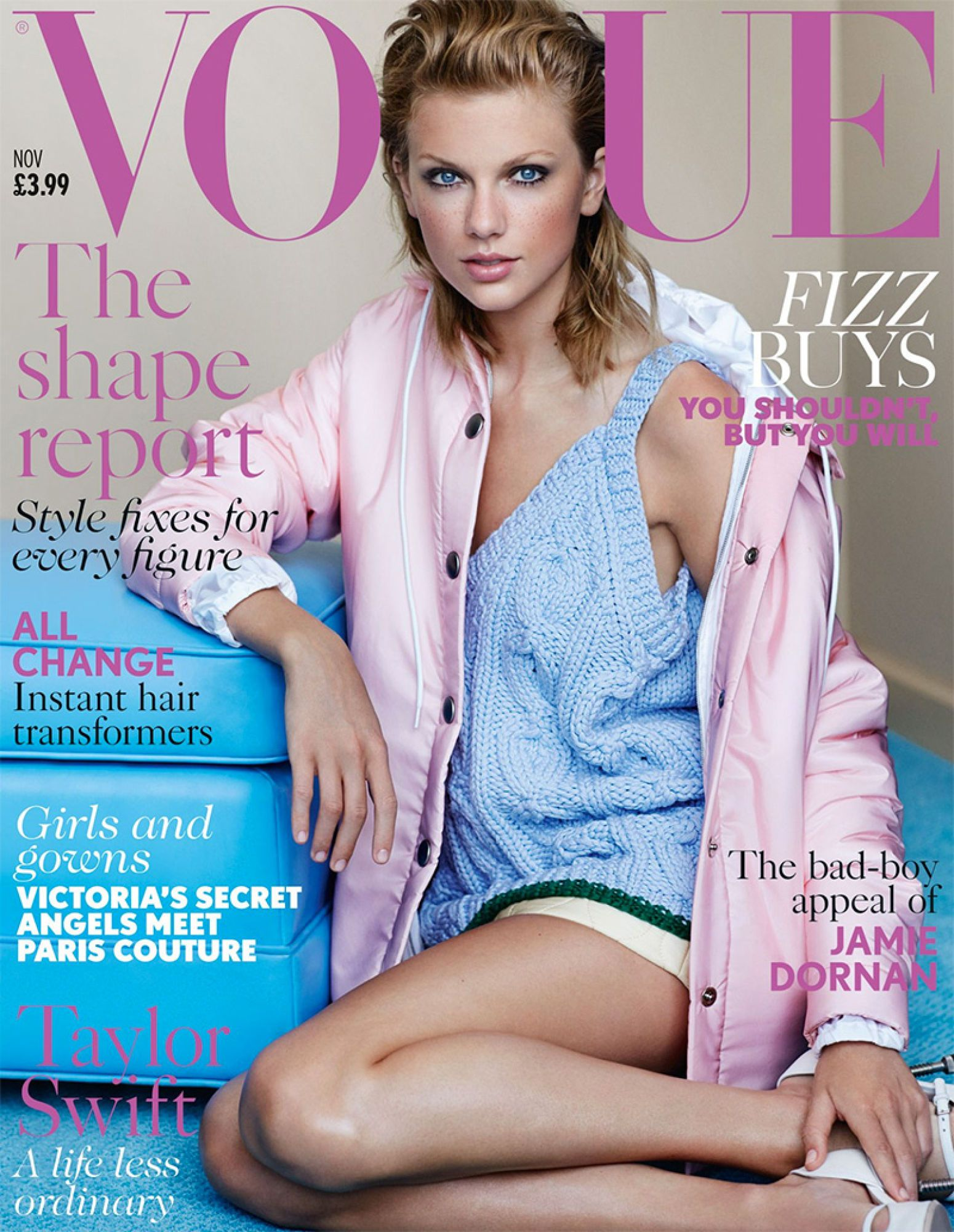 Taylor Swift S Forehead Makes Rare Appearance On Vogue Cover Vogue Covers Vogue Uk Vogue Magazine Covers