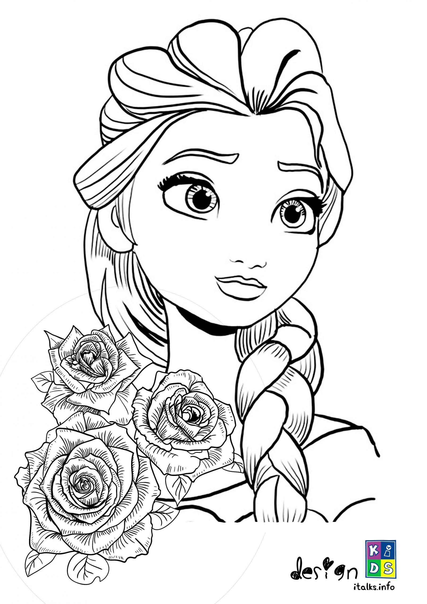 Beautiful Princess Elsa Frozen Coloring Page Frozen Coloring Coloring Pages Elsa Frozen