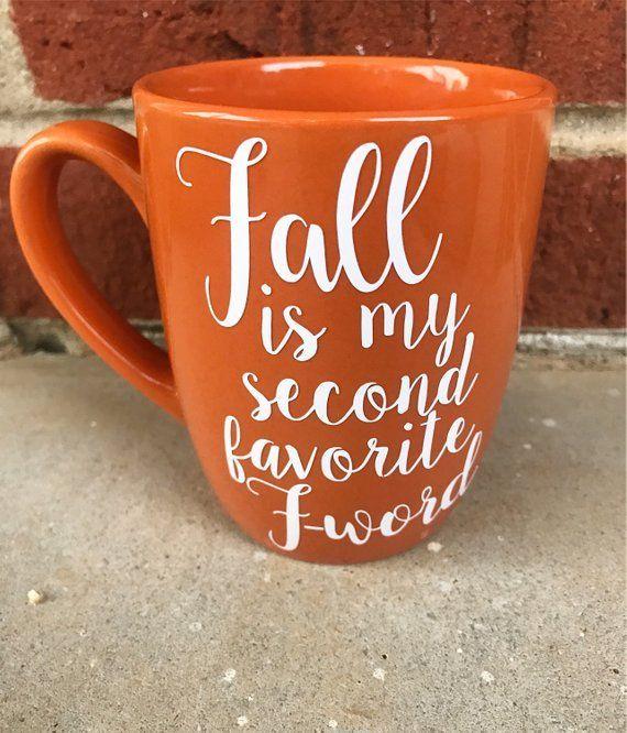 Fall Printed Coffee Cups #coffeecups