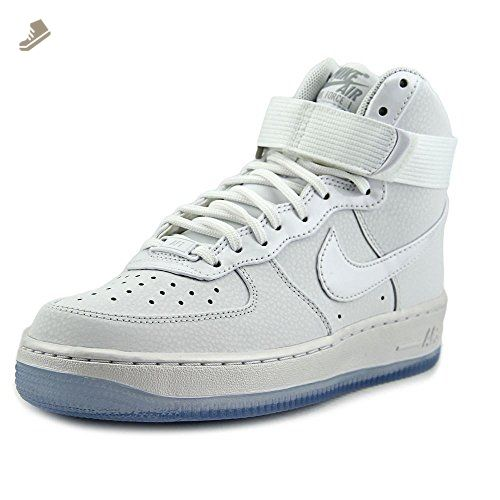0deaa163f87d2 Nike Air Force 1 Hi Women US 9.5 White Basketball Shoe - Nike ...
