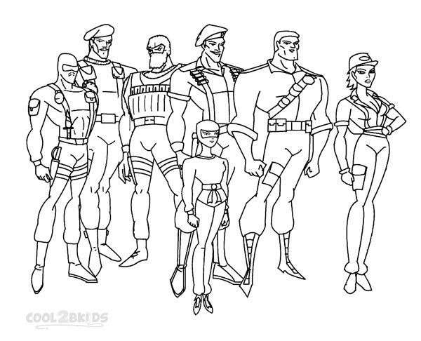 Printable Gi Joe Coloring Pages For Kids Cool2bkids Cartoon Coloring Pages Coloring Pages Cute Coloring Pages